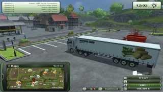 Zagrajmy w Farming Simulator 2013 na multiplayer #28 - Transport palet z wełną.