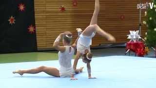 getlinkyoutube.com-Connerney, McConnell - 1st Class Gymnastics Annapolis - Womens Pair - Zwingerpokal 2013
