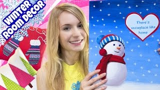 getlinkyoutube.com-DIY ROOM DECOR! 10 DIY Projects for Winter & Christmas! Decorating ideas for a Frozen Room