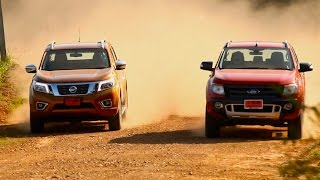 getlinkyoutube.com-2014 Nissan NP300 Navara VS. Ford Ranger 3.2 4WD [Full Review]