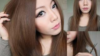 getlinkyoutube.com-How To Cut Hair Layers ✂