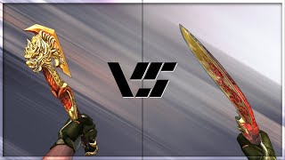 getlinkyoutube.com-CrossFire 2.0 : COMBAT AXE-BEAST vs KUKRI-BEAST [VVIP Melee Comparison]