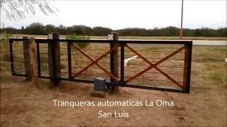 getlinkyoutube.com-Tranqueras automáticas La Oma. Video de muestra.