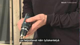 getlinkyoutube.com-Bosch Drilldriver GSR 10,8-LI / GSR 10,8-2-LI Finnish