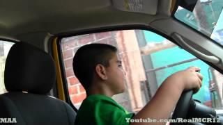 getlinkyoutube.com-9 Year Old Kid Driving Me - (Automatic Car)