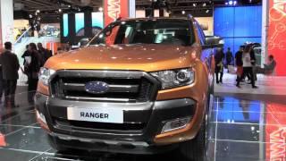 2016 Ford Ranger Wildtrak at IAA 2015 | AutoMotoTV
