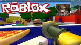 getlinkyoutube.com-ROBLOX: Let's have a FOOD FIGHT!!!