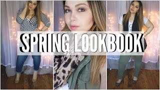 getlinkyoutube.com-Plus Size Spring Lookbook