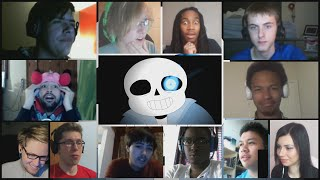 "getlinkyoutube.com-""Sans Battle - Stronger Than You"" By alfa995 Reaction Mashup"