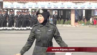 Suasana Pilu Pada Sambutan Hari Polis Ke-206 25/3/2013