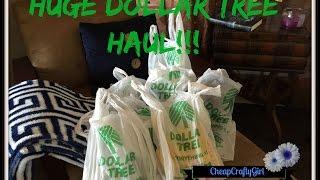 HUGE DOLLAR TREE HAUL: September 2015 + Fan Giveaway