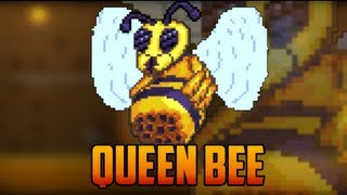 getlinkyoutube.com-Terraria - Queen Bee Boss Fight