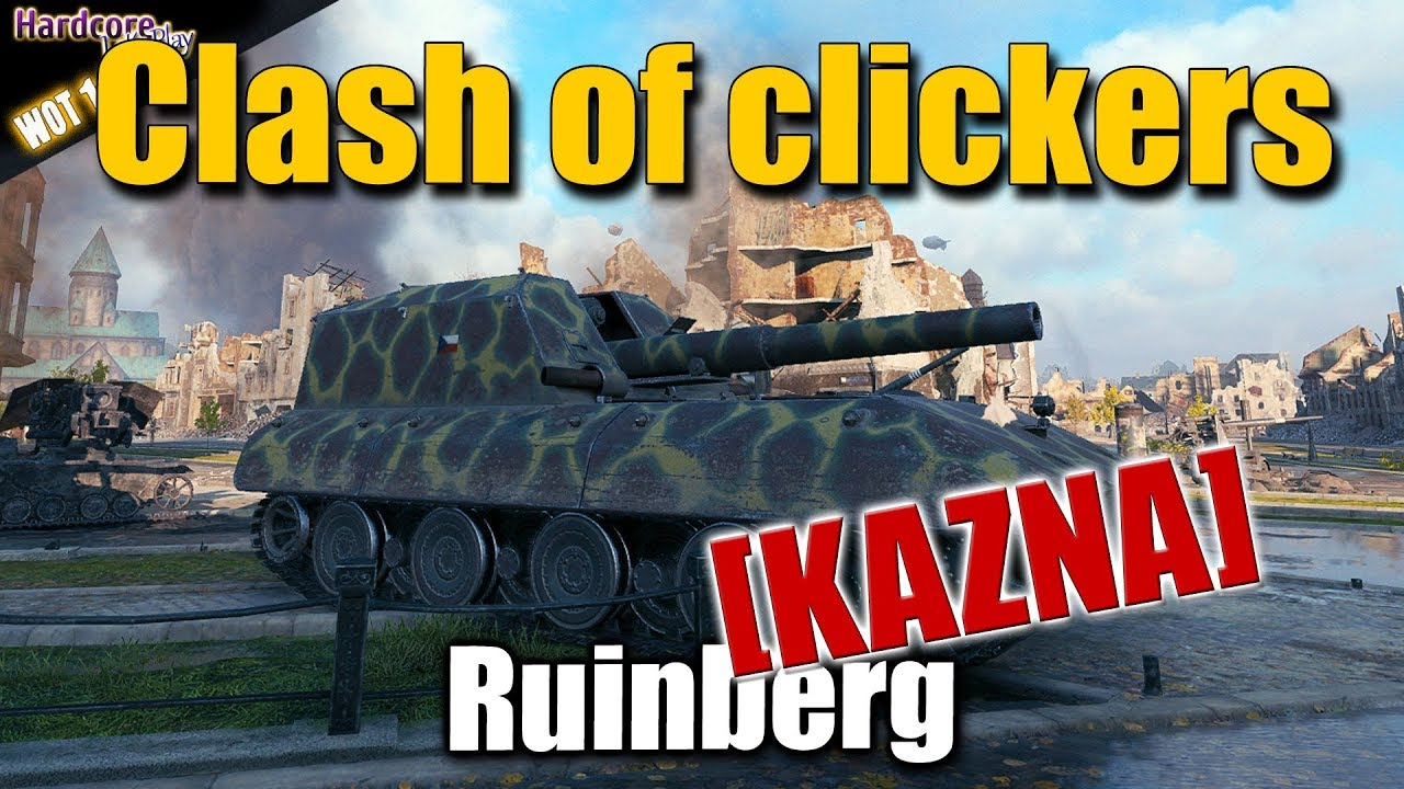 WOT  G W  E 100  KAZNA   Clash of clickers  World of Tanks