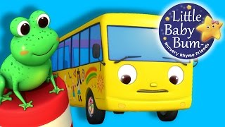 getlinkyoutube.com-Ten Little Buses | Part 2 | From Wheels On The Bus | Nursery Rhymes | By LittleBabyBum!