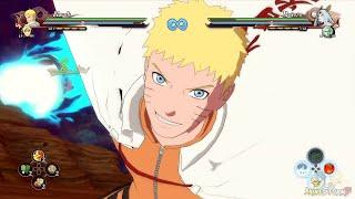 getlinkyoutube.com-Naruto Shippuen Ultimate Ninja Storm 4 - DLC Naruto Hokage Moveset & Ultimate Jutsu