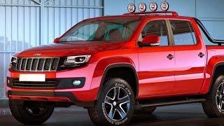 getlinkyoutube.com-Jeep pickup Truck 2017 Revealed!