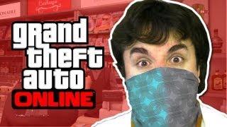 GTA V Online: Assaltando Loja!