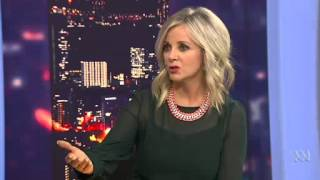 getlinkyoutube.com-Chelsea Islan on ABC News Australian Broadcasting (She's AWESOME)
