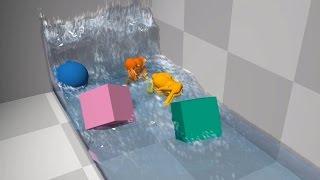 getlinkyoutube.com-Nvidia GameWorks Unreal Engine 4 - Physics Simulation