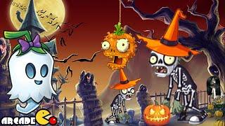 getlinkyoutube.com-Plants Vs Zombies 2: Halloween Pinata Party Night 2 Ghost Pepper 10/25