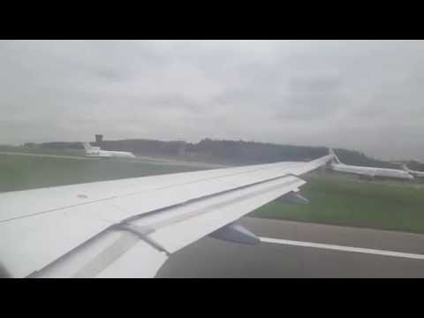 Germanwings Airbus A319-112 Take Off in Moskau-Vnukovo (VKO)