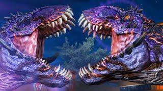 getlinkyoutube.com-WORLD BOSS T.REX STRONGEST DINOSAURS EVER - Jurassic World The Game!