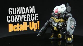 getlinkyoutube.com-989 - Gundam Converge Grimoire Detail-Up!