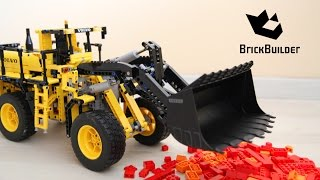 getlinkyoutube.com-Lego Technic Volvo 42030 Functions