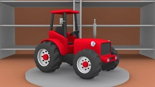 getlinkyoutube.com-▪ Tractor for Kids | The Tale of Tractors | Formation and uses | Bajki Traktory - Dla Dzieci ▪