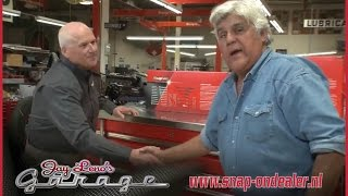 getlinkyoutube.com-Snap-on Tools stops by Jay Leno garage to show Jay their top of the line tool storage solutions.