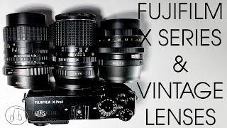 getlinkyoutube.com-Fujifilm X Series with Vintage Lenses - Getting Started