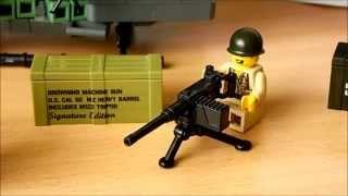 getlinkyoutube.com-BrickArms Opening/Review M1917A1, M2HB, Golden Crate Mystery Pack (Deutsch/German)