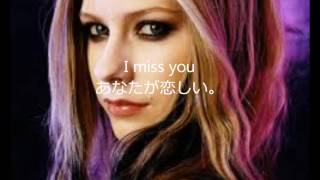 getlinkyoutube.com-Avril Lavigne When you're gone 和訳 (Acoustic ver.)