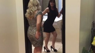 getlinkyoutube.com-Farm Girl partying with friend, The Real Elle Woods at a recent awards ceremony.
