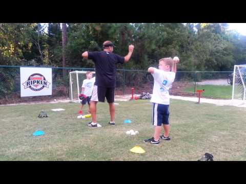 How to Throw a Baseball, Step One (5 & 6 year olds)