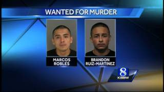 getlinkyoutube.com-2 of 8 Watsonville murder suspects still on the run