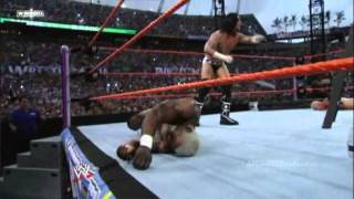 getlinkyoutube.com-Money In The Bank Ladder Match at Wrestlemania 24 Highlights [HQ]