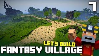 getlinkyoutube.com-Let's Build A Fantasy Village! (Part 7)