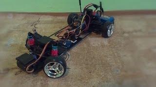 getlinkyoutube.com-Homemade RWD RC drift car