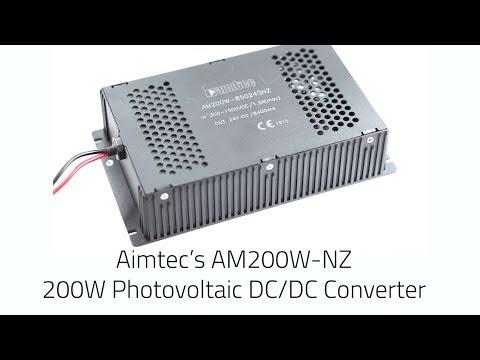 Aimtec's First High Power 200W DC/DC Converter