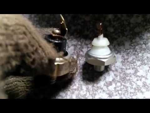 Где находится датчик давления масла у Chery Tiggo 2