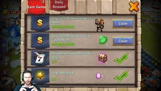 getlinkyoutube.com-Collecting Minotaur Epic Rolling Session ON FIRE Castle Clash