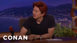 "getlinkyoutube.com-Steven Yeun Already Has A New Post ""Walking Dead"" Job  - CONAN on TBS"