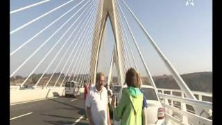 getlinkyoutube.com-افتتاح أكبر جسر معلق بإفريقيا