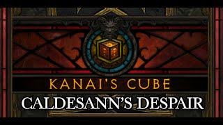 Diablo III patch 2.4 ptr Kanai's Cube: Augment Item, Caldesann's Despair