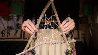getlinkyoutube.com-How to Make a Dream Catcher with Branches