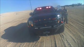 getlinkyoutube.com-Stopped by a Park Ranger in Silver Lake Sand Dunes