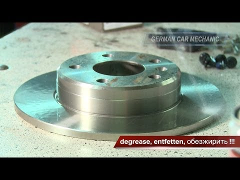 (OPEL ZAFIRA A & B) Замена тормозных колодок и дисков. How to Replace Disc Brakes.