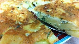 طريقة عمل بطاطس أومليت Potato Omlete