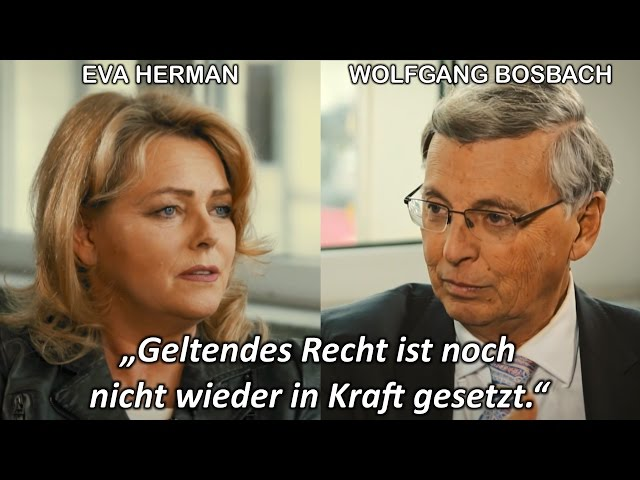 Merkels Rechtsbruch: Interview mit Wolfgang Bosbach (CDU)